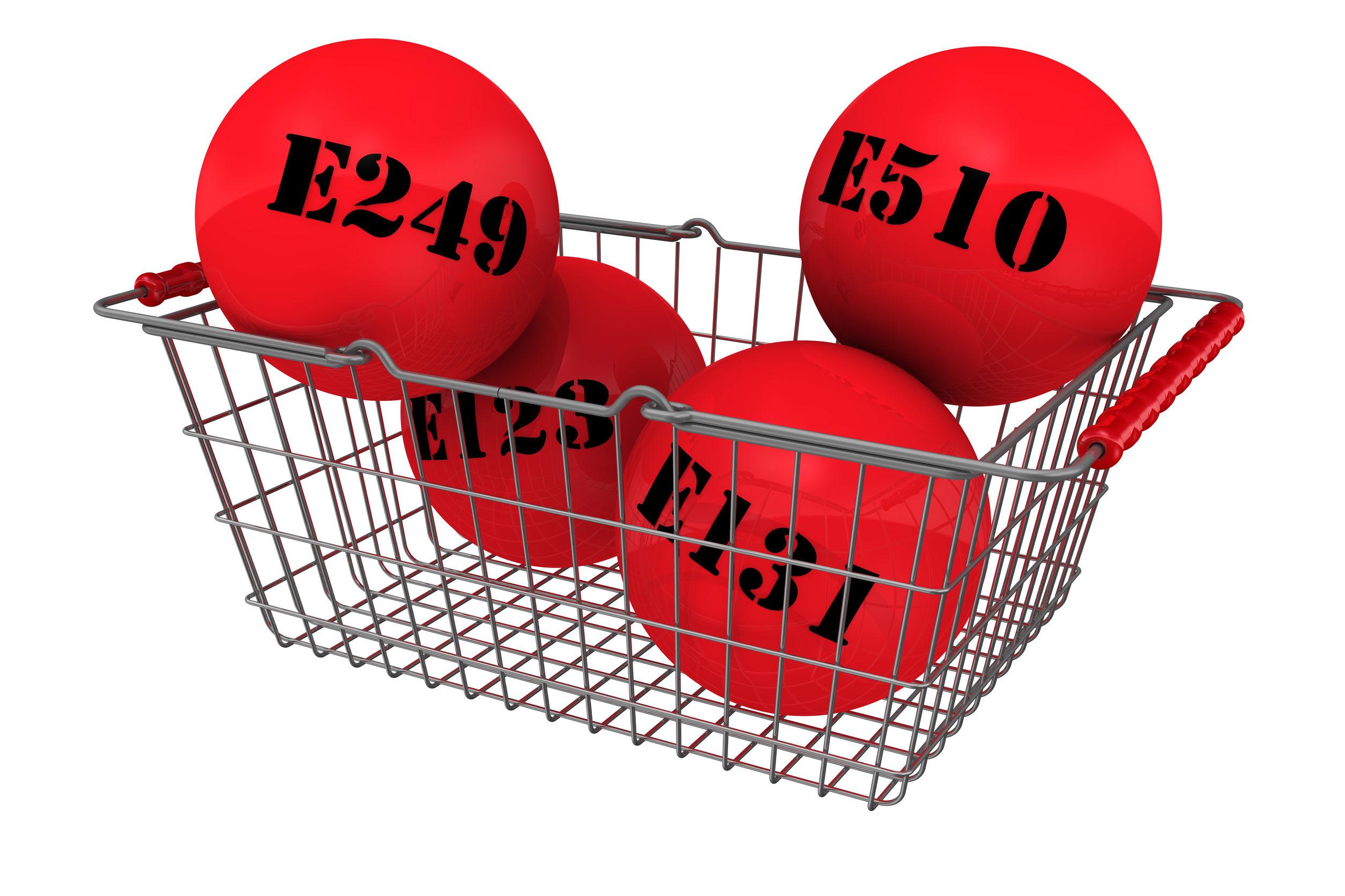 ¿Qué significa la «E» en la etiqueta de un producto?