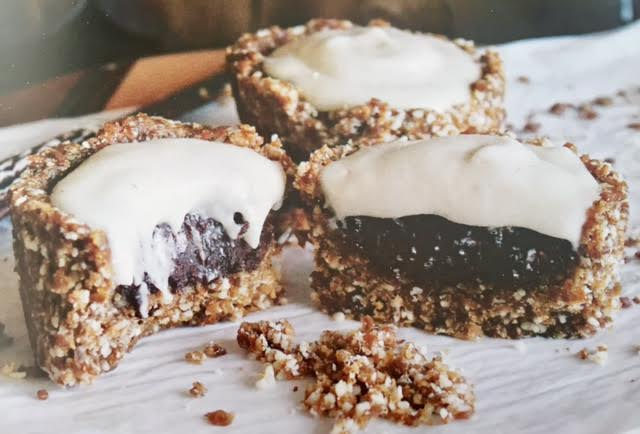 Receta de cupcakes de cacao y anacardo