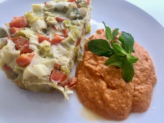 Receta de pastel de verduras al vapor. Más nutrientes, PH adecuado, más salud.
