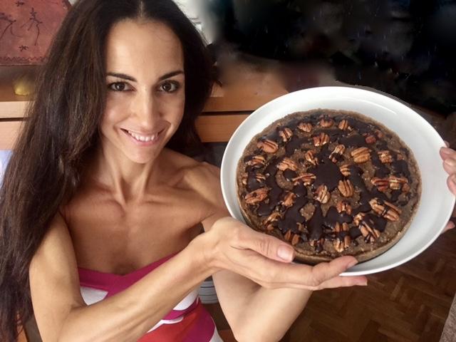 Receta de tarta de caramelo y chocolate