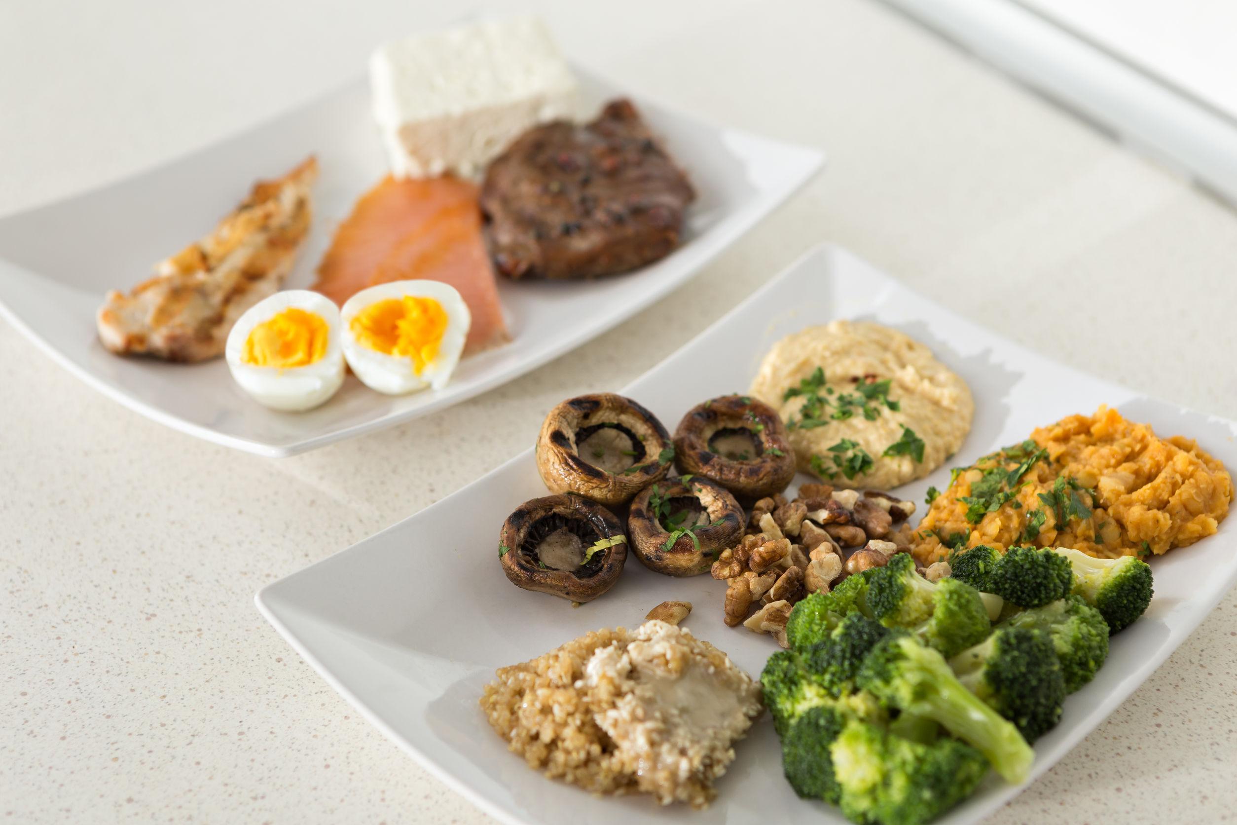 Cómo sustituir carne, huevos y lácteos  por proteínas de origen vegetal. Fuentes de calcio no lácteas
