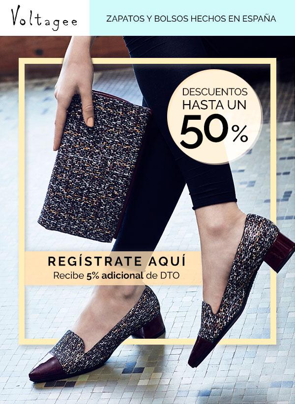 Zapatos y bolsos hechos en España/ Voltagee